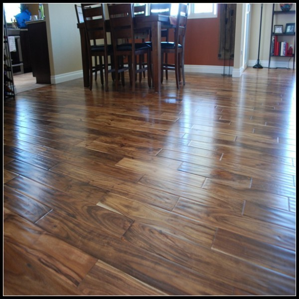 Handscraped Acacia Engineered Flooring