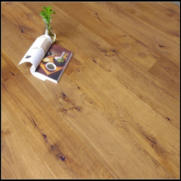Smoked Cracks&Natural Oil Oak Engineered Flooring
