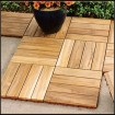 Teak Outdoor Wood Tiles